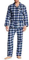 Bottoms Out Flannel Pajama Top And Bottom Set
