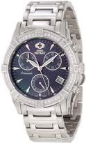Mother of Pearl Swiss Precimax Women's SP12079 Desire Elite Diamond Mother-Of-Pearl Dial Watch