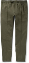 Valentino - Slim-fit Cotton-twill Drawstring Trousers
