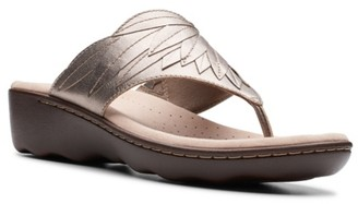 Clarks Phebe Pearl Wedge Sandal
