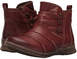 Spring Step Anatol (Bordeaux) Women's Dress Boots