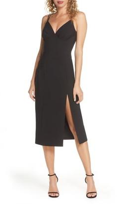 Finders Keepers Victoria Dual Strap Midi Dress