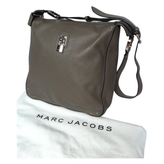 Marc Jacobs Grey Leather Handbag