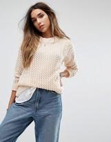 Noisy May Loose Knit Sweater