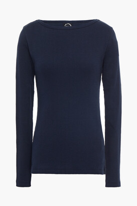 The Upside Ribbed Cotton-jersey Top