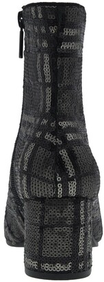 Impo Jarles Plaid Sequin Ankle Bootie