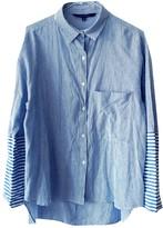 Walter W118 By Baker Blue Cotton Top for Women