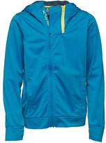 Bench Boys Double Zip Tricot Hoody Blue
