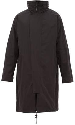 Yves Salomon Two Piece Cotton Blend & Shearling Parka - Mens - Black