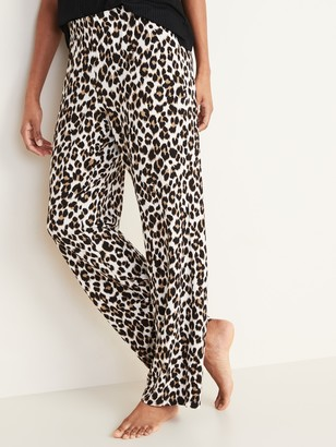 Old Navy Straight Jersey-Knit Pajama Pants for Women