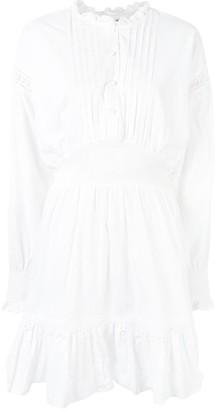 Designers Remix Pleated Bib Mini Dress