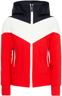 Fusalp Quilted Color-block Hooded Ski Jacket