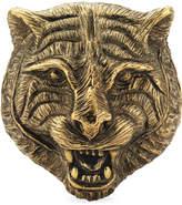 Gucci Feline head ring in metal