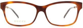 Gucci Gg0657o Havana Glasses