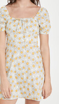 Thumbnail for your product : HVN Mini Holland Bow Tie Cotton Dress