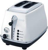 De'Longhi DeLonghi Icona 2-Slice Toaster - White