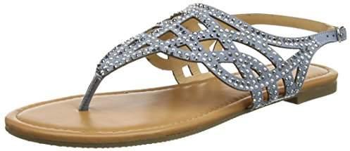 Dorothy Perkins Women's Ferdie Embellised Open-Toe Sandals,37 EU