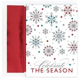 Hortense B. Hewitt 16ct Celebration Snowflakes Holiday Boxed Cards