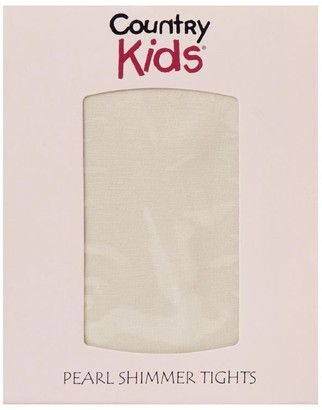 Country Kids Pearl Shimmer Tights