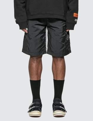 Heron Preston CTNMb Dots Baggy Shorts