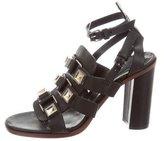 Proenza Schouler Stud-Embellished Cage Sandals