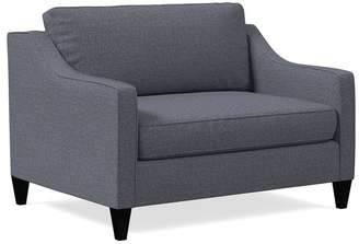west elm Paidge Chair and a Half Twin Sleeper