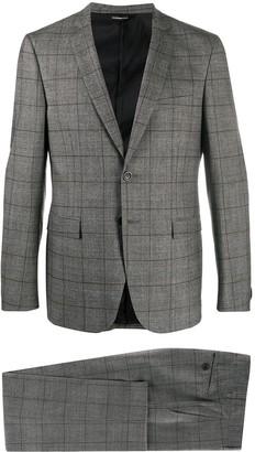 Tonello Tartan Two-Piece Suit
