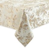 Waterford Linens Marcelle Tablecloth in Ivory