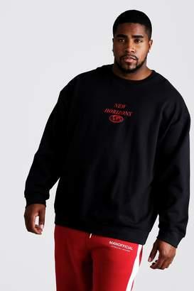 Big & Tall Loose Fit New Horizons Sweatshirt