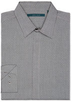 Perry Ellis Irridescent Dobby Check Silky Shirt