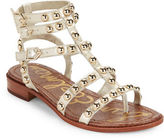 Sam Edelman Eavan Studded Leather Gladiator Sandals