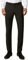 Topman Men's Ultra Skinny Black Suit Trousers