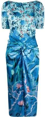 Peter Pilotto floral-print midi dress