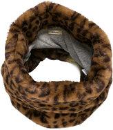 Bellerose Kids leopard print furry scarf