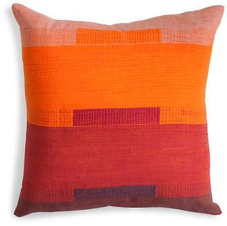 Bole Road Textiles Bale 18x18 Pillow - Dusk