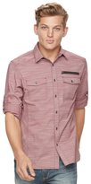 Rock & Republic Men's Core Stretch Slub Button-Down Shirt