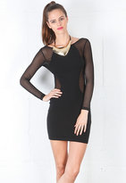 Motel Rocks Genie Brick Dress in Black