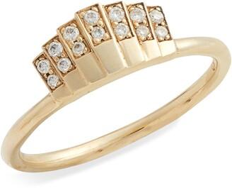 Jennie Kwon Designs Diamond Fan Ring