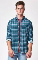RVCA Soon As Plaid Long Sleeve Button Up Shirt