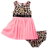 Juicy Couture Animal Print Top Dress & Bloomer Set (Baby Girls 0-9M)