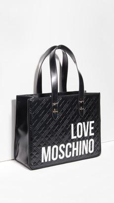Moschino Love Logo Tote