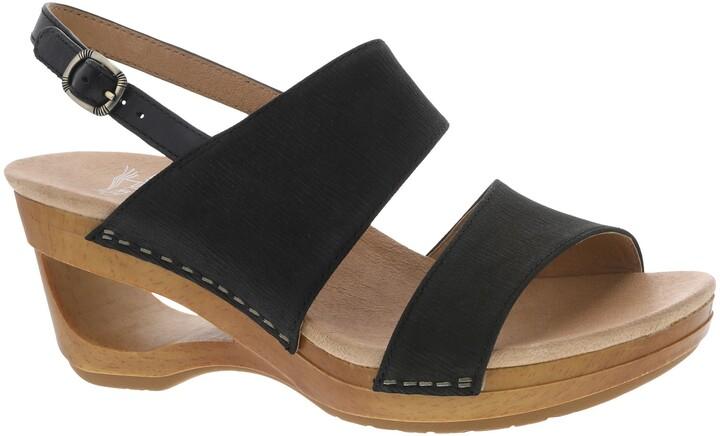 Dansko Tamia Cutout Wedge Sandal