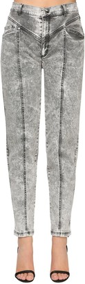 Marina Rinaldi Cotton Denim High Waist Jeans