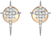 The Alkemistry North Star 14ct rose-gold and diamond earrings