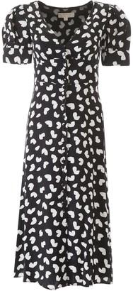 MICHAEL Michael Kors Petal Print Dress