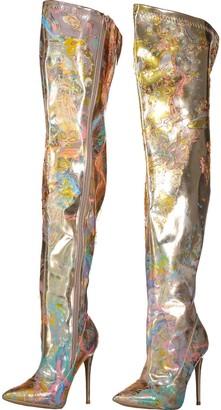 Manimekala Merga Boots Rose Gold