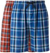 Hanes Big & Tall Classics 2-pack Plaid Woven Jams Shorts