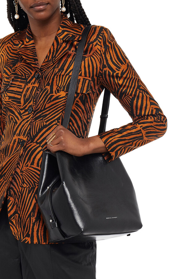 Thumbnail for your product : Rebecca Minkoff Kate Textured-leather Bucket Bag