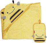 Skip Hop Zoo Towel/Mitt Set - Bee - 2 ct