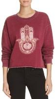 Signorelli Hamsa Cropped Sweatshirt